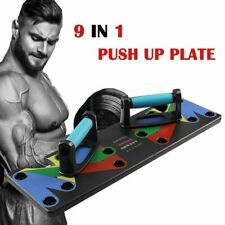 Bodybuilding 9 in 1 System Fitness Workout Biceps Muscle Training Gym Exercise