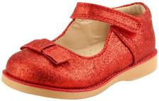 Girl's School Dress Classic Shoes Mary Jane Glitter 4 Colors Toddler Size