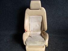 LEDER RECARO Fahrersitz VW Passat 3BG Sitz Ausstattung LEDER ALCANTARA beige