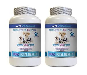 dog joint treats - DOG TOTAL HEALTH COMPLEX 2B- dog vitamins senior chews