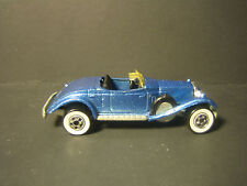 1984 HOT WHEELS ROLLS ROYCE PHANTOM II BLUE METALIC, WHITE WALL TIRES