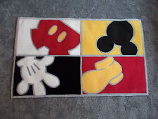 DISNEY MICKEY MOUSE BODY PARTS RUG 3' X 5'  NEW