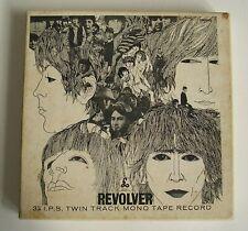 Beatles Revolver REEL TO REEL 1966 UK Twin Track Mono EMITAPE Gt.Britain