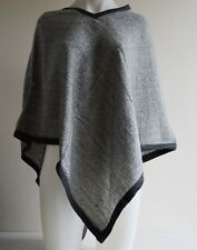 Pashmina Poncho Cashmere Wool Cape Wrap Soft Warm Women Long Sleeve 30