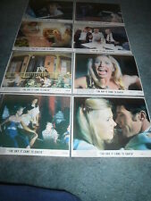 THE DAY IT CAME TO EARTH(1977)ORIGINAL COLOR STILL SET OF 8 MINT UNUSED +