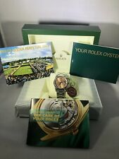 Preowned Rolex Oyster Perpetual Date 15200 34mm Automatic Box & Booklets Mint