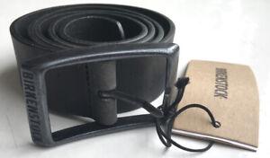 """Birkenstock Men's Leather Kansas Belt - Black - 90cm / 36"""" (for 32-34"""" Waist)"""