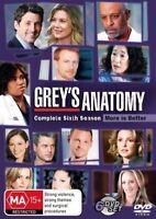 Grey's Anatomy : Season 6 DVD : NEW