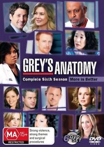 Grey's Anatomy : Season 6 (DVD, 2010, 6-Disc Set)