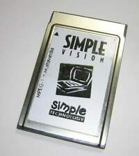 Vintage Simple Tech SimpleVision MPEG-1 Multimedia PCMCIA Card