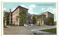 City Hospital, Minneapolis, MN Postcard
