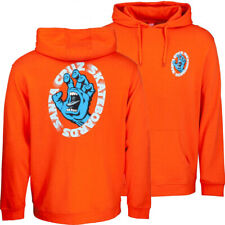 Santa Cruz - Scream Hood - Skateboard Hoodie - Tomato Large Screaming Hand