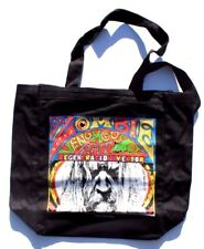 New Rob Zombie Venomous Rat 100% Cotton Canvas Tote/ Grocery Vinyl Record Bag