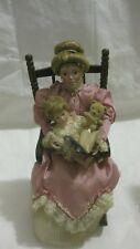 Rare Storytime Porcelain Doll Set By Lia Dileo Mother Daughter & Rocker Gorham