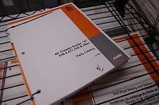 CUSTODIA DROTT 40 SERIES E Crawler Tractor Bulldozer Spare Parts Manual book