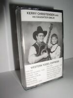 Kerry Christensen and His Daughter Emile: Western Yodel Express (New,Cassette)