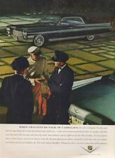 1962 Cadillac Coupe De Ville PRINT AD When Chauffeurs Talk of Cadillacs Photo ad