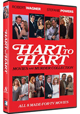 Hart to Hart Movies Are Murder Collection 8 Films DVD