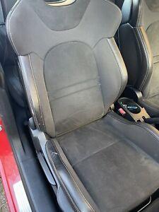 PEUGEOT 207 GTI 2006-2012 3 DOOR SET OF GENUINE HALF ALCANTARA SEATS