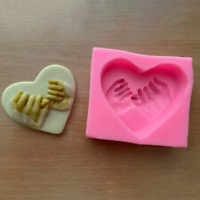 Soap Candle Making Silicone Mold Love Heart Little Finger Pinky Swear Promise