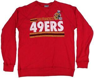 San Francisco 49ers NFL Junk Food Men's Crew Neck Sweatshirt