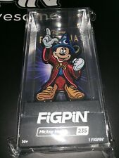 Disney FiGPiN FANTASIA Sorcerer MICKEY MOUSE Pin Display D23 2019 LE 1000