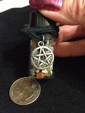 Journey Stones Talisman Pentagram Charm Travel Car Altar Wiccan Pagan