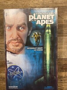 "Sideshow Astronaut Brent 12"" Action Figure Beneath Planet of the Apes Complete"