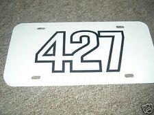 Chevrolet Corvette 427 Engine License Plate