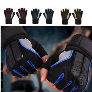 Tactical Fingerless Motorcycle Half Finger Gloves Hunting Shooting Mens
