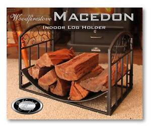 Wood Heater FIREPLACE FIREWOOD HOLDER WOOD STORAGE Macedon
