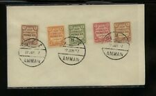 Palestine  postage due stamps on cover     MS0801