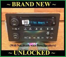 Brand New OEM 2004-2012 Chevy Colorado Silverado Cd Radio GMC Truck SUV Unlocked
