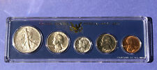 1941-P BU Unc to Gem BU U.S. Mint Coin Set in a Genuine Special Government Case!