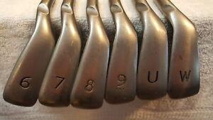 Used Ping Karsten Iron Set (6-PW, UW) 6 Irons - Black - CFS Distance - Reg - RH