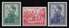 CHINA PRC, Germany, 1951. MAO Friendship Mi286-288, Mint **