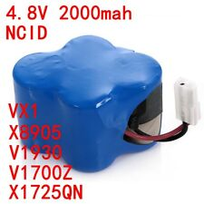 4.8V 2.0Ah Battery For Euro-Pro Shark X1725Qn V1930 V1700Z Cordless Sweepers Us