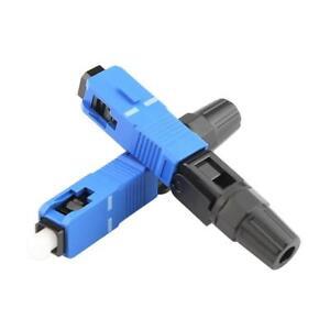 10pcs FTTH SC UPC Fiber Cold Connector SC Optic Fiber Connector Splice Connector