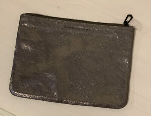 Marc Jacobs Grey Leather Clutch