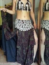 VESTITO DANZA DEL VENTRE BELLY DANCE 16.64.5.6.67 danza orientale costume egitto