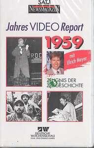 VHS - NEU - SAT 1 Report 1959 - Jahres Video Report 1959