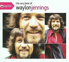 FREE US SHIP. on ANY 3+ CDs! ~Used,Good CD Waylon Jennings: Playlist (Eco-Friend