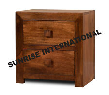 Contemporary Wooden Bed side cabinet (2 drawers)  !!