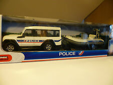 IVECO MASSIF 4 x 4 + ZODIAC : POLICE NATIONALE ~ NEUF