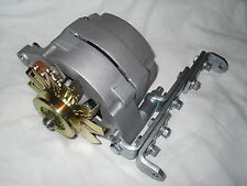 Tractor/ car 6 volt 60 amp 1 wire alternator Negative Ground w/Bracket & pulley
