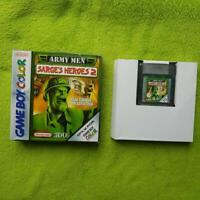 Gameboy Color - Army Men - Sarge's Heroes 2 (inkl OVP) - Nintendo