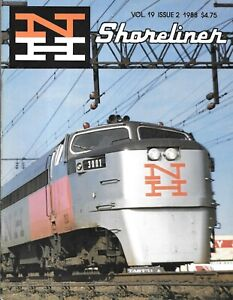 Shoreliner Magazine #2 1988 New Haven The McGinnis Trains Talgo Train Trolley