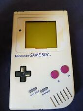 Original Nintendo Gameboy Grey DMG 01 With Tetris Game Bundle