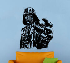 Darth Vader Wall Decal Star Wars Universe Vinyl Sticker Atr Wall Mural Decor 15s