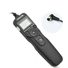 New Shoot Timer Remote Control Shutter Release Cable Intervalometer for Nikon